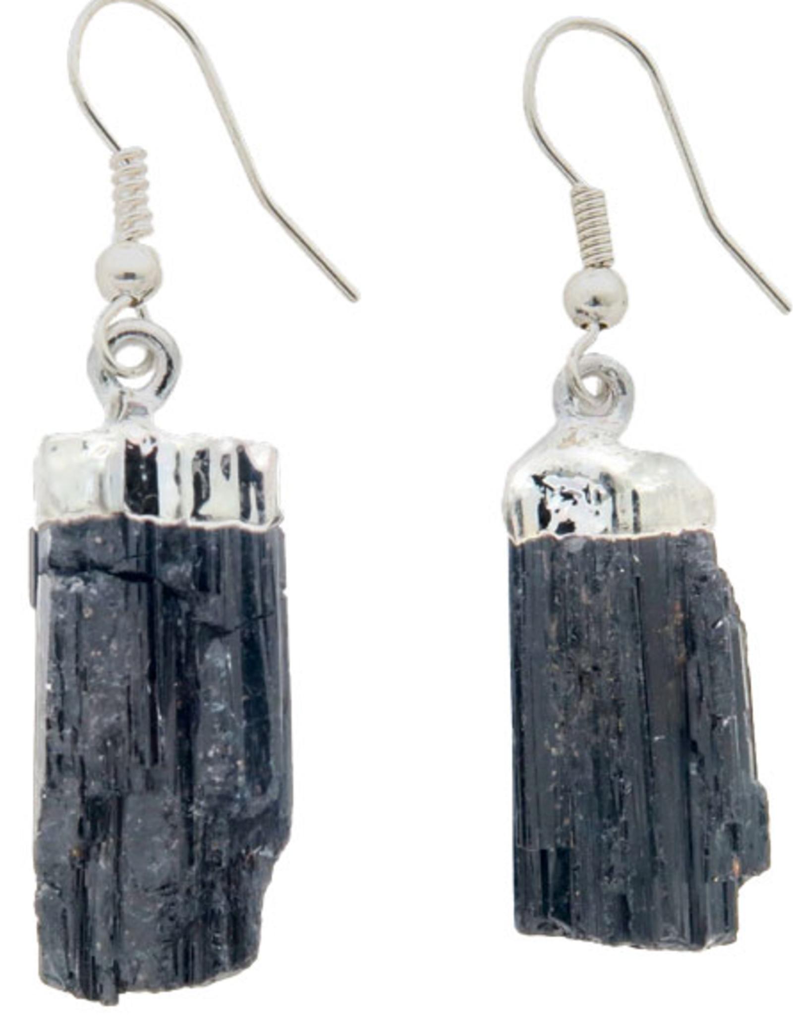 Black Tourmaline Earrings