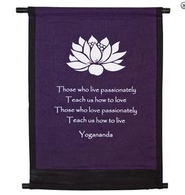 Lotus Yogananda- Mini Banner
