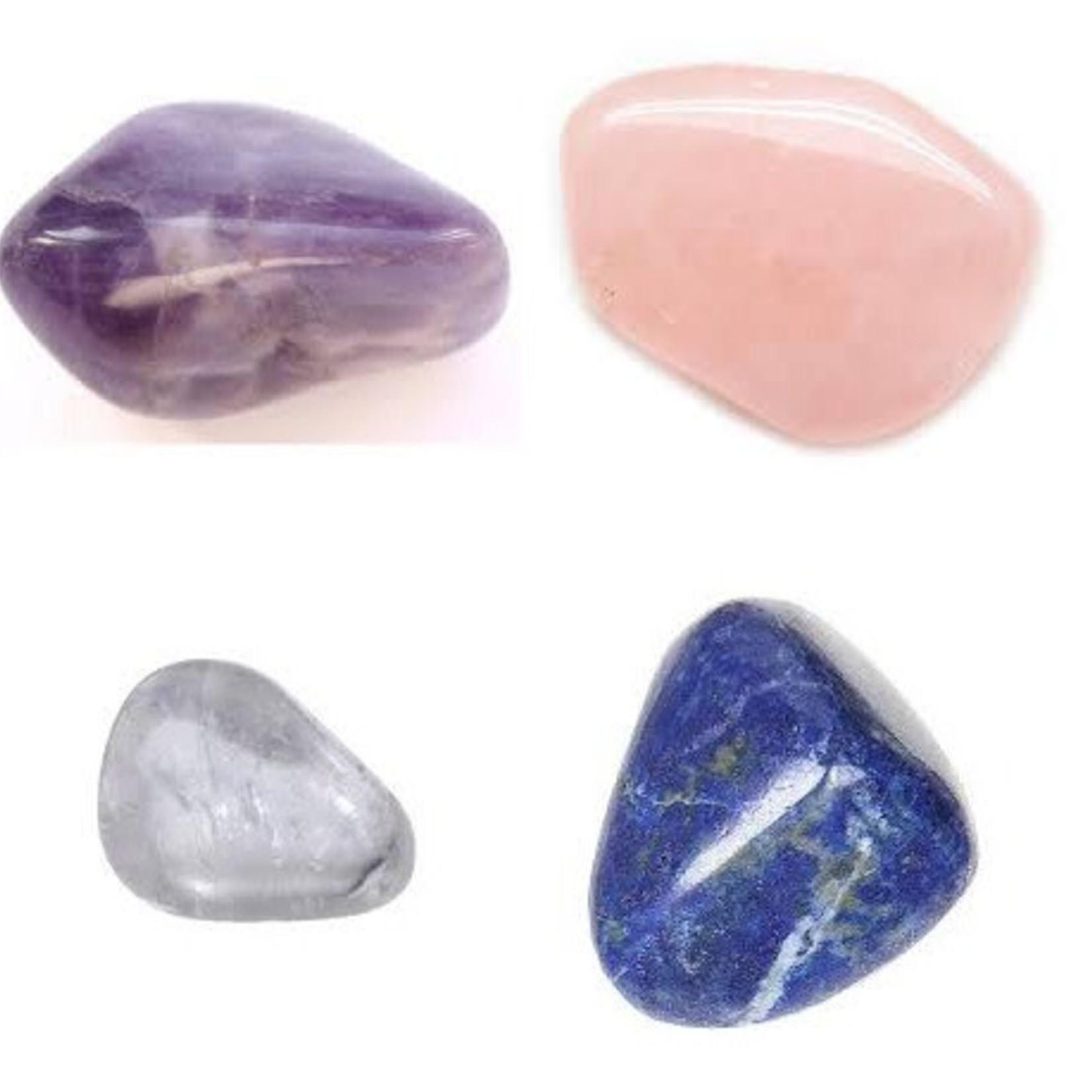 Assorted Crystal & Stone Bag