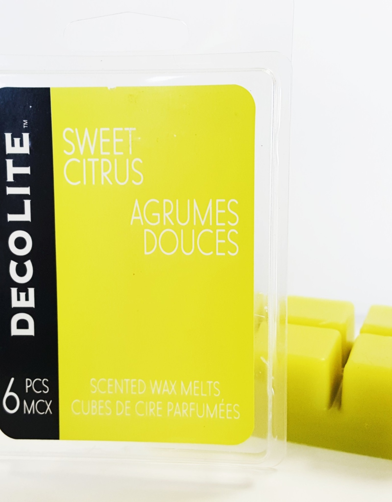 Decolite- Sweet Citrus Wax Melts