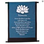 Banner  Lotus Namaste Mini (Blue + Black)