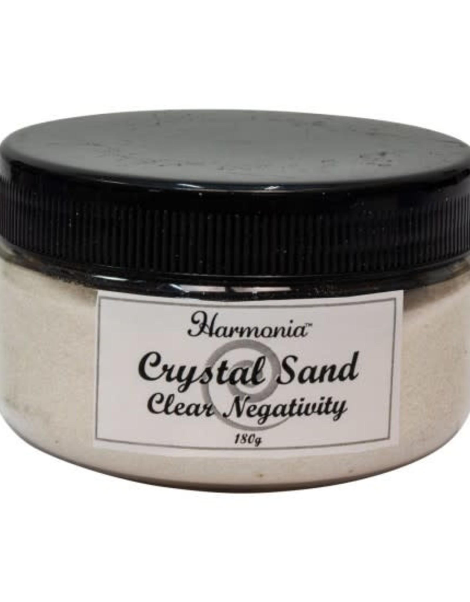 Clear Quartz Crytsal Sand- Clear Negativity