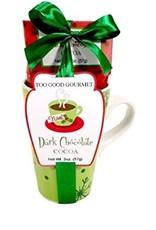 Dark Cocoa- Green Mug Set