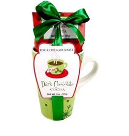 Dark Cocoa- Green Mug Set
