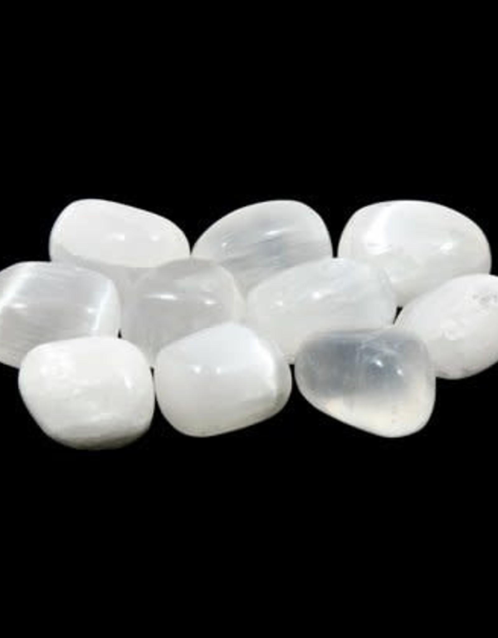 Selenite Tumblled Stone