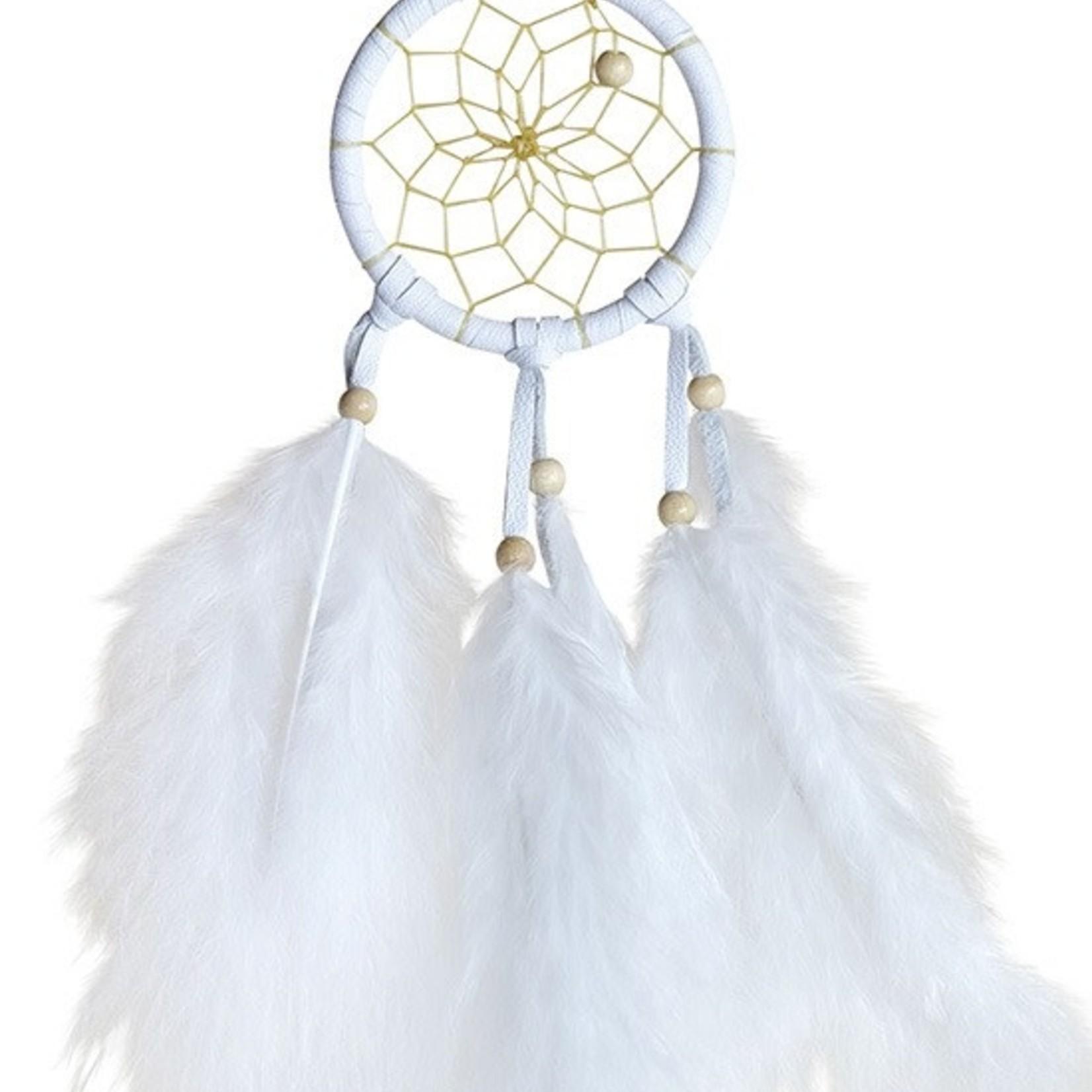 Dream Catcher White Mini