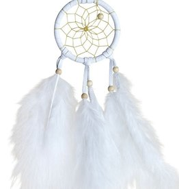White Mini Dream Catcher
