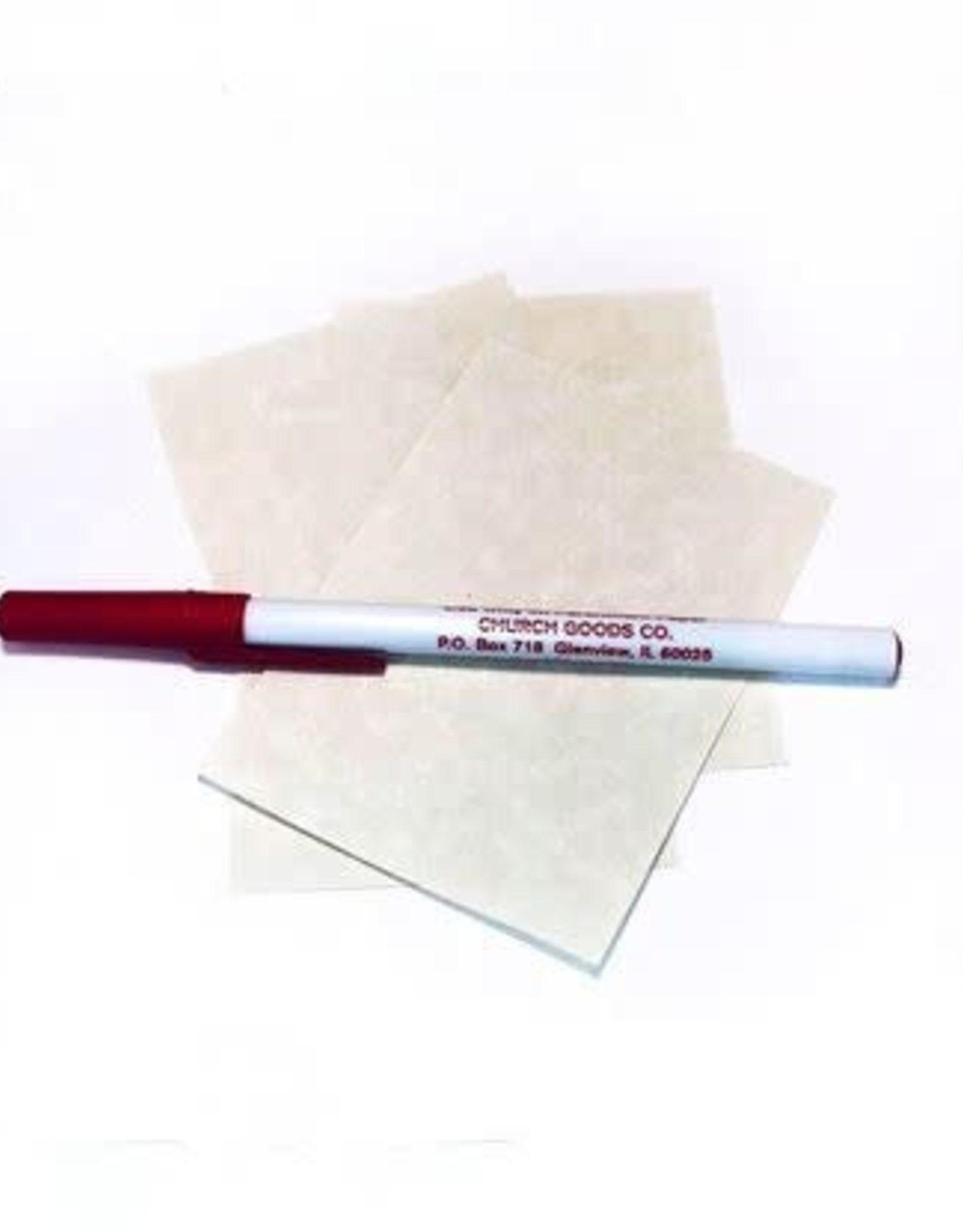 Blessed Parchment Paper w/ Doves Ink Pen