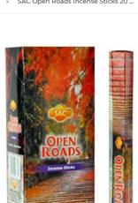 Open Roads Incense Sticks SAC