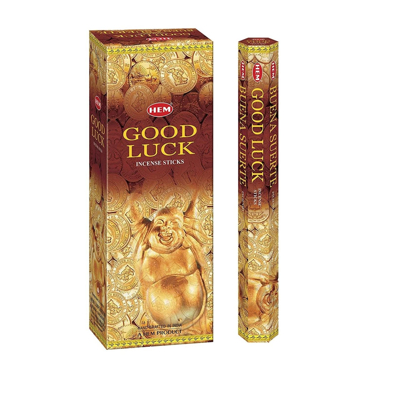 Good Luck Incense Sticks - HEM