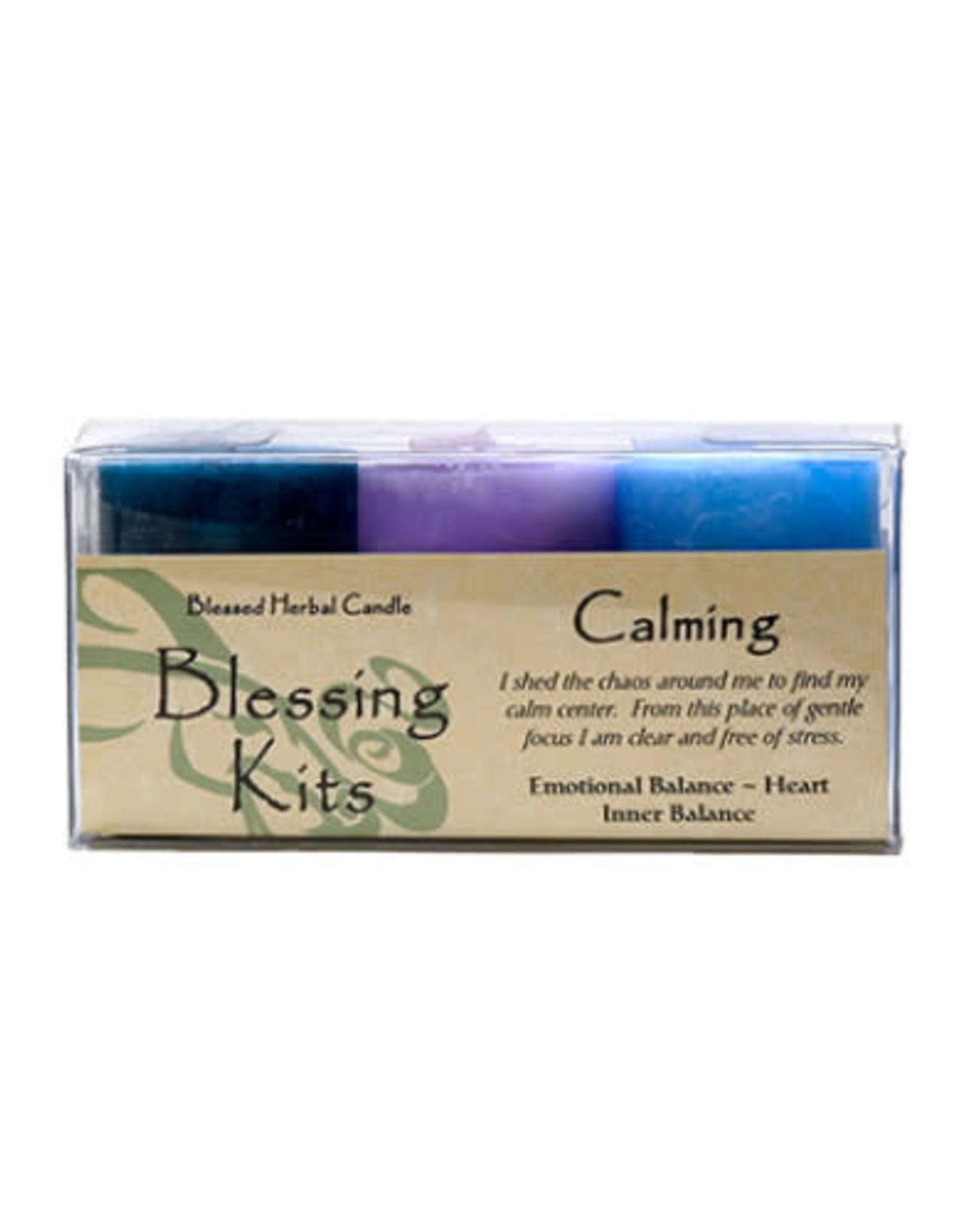 Herbal Calming Candle Kit