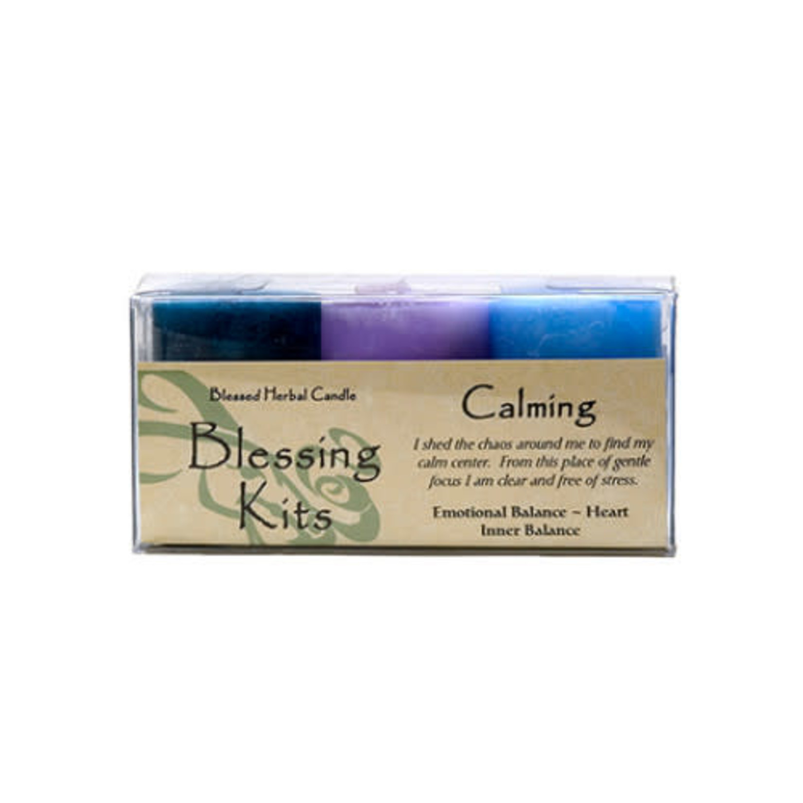 Blessed Kit Herbal Calming Candle Kit