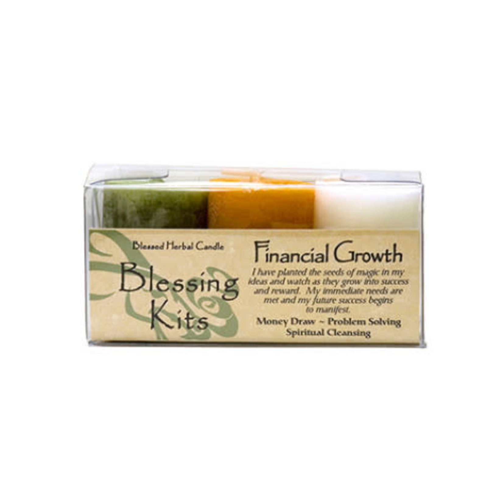 Blessed Kit Financial Growth Candle Kit