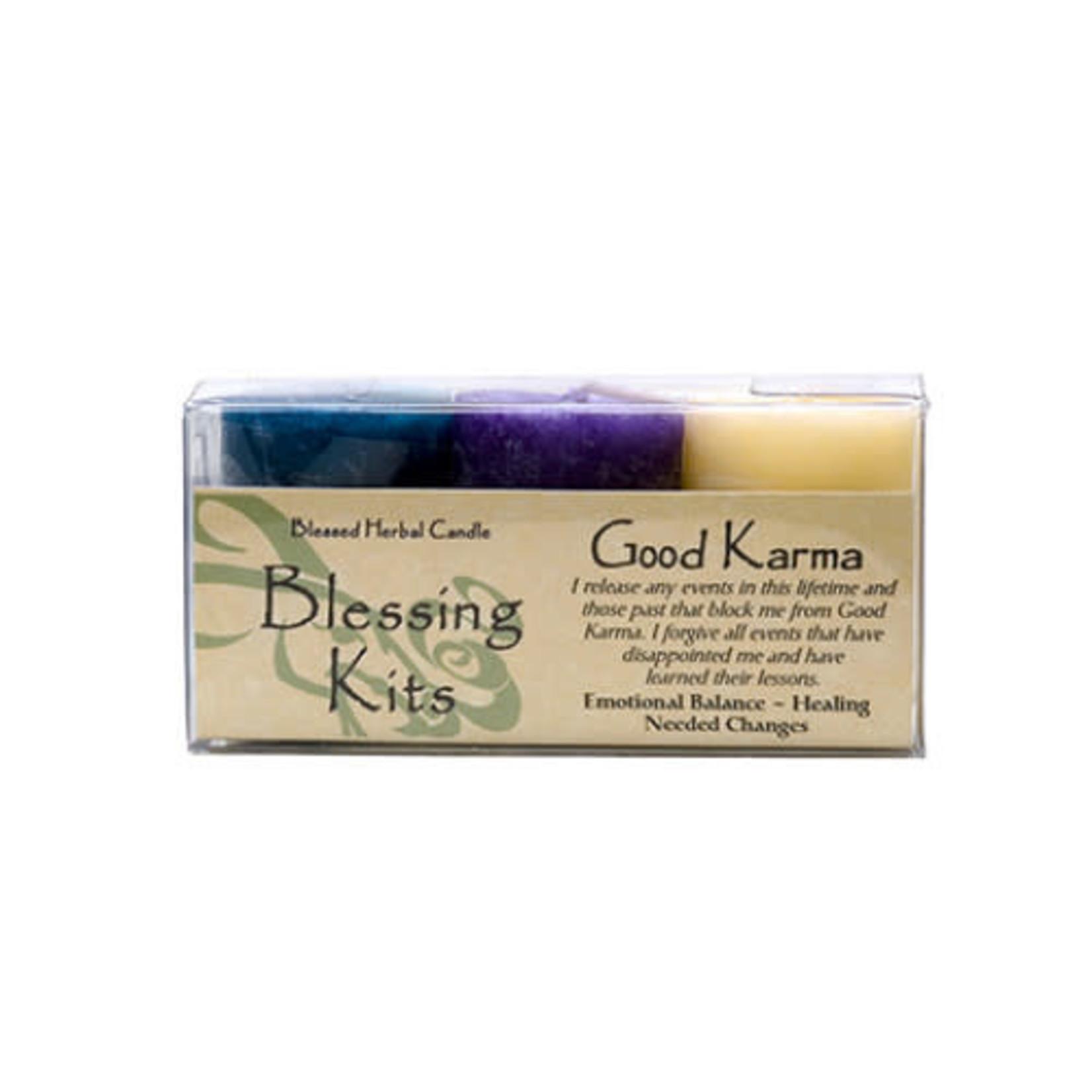 Blessed Kit Herbal Good Karma Candle Kit