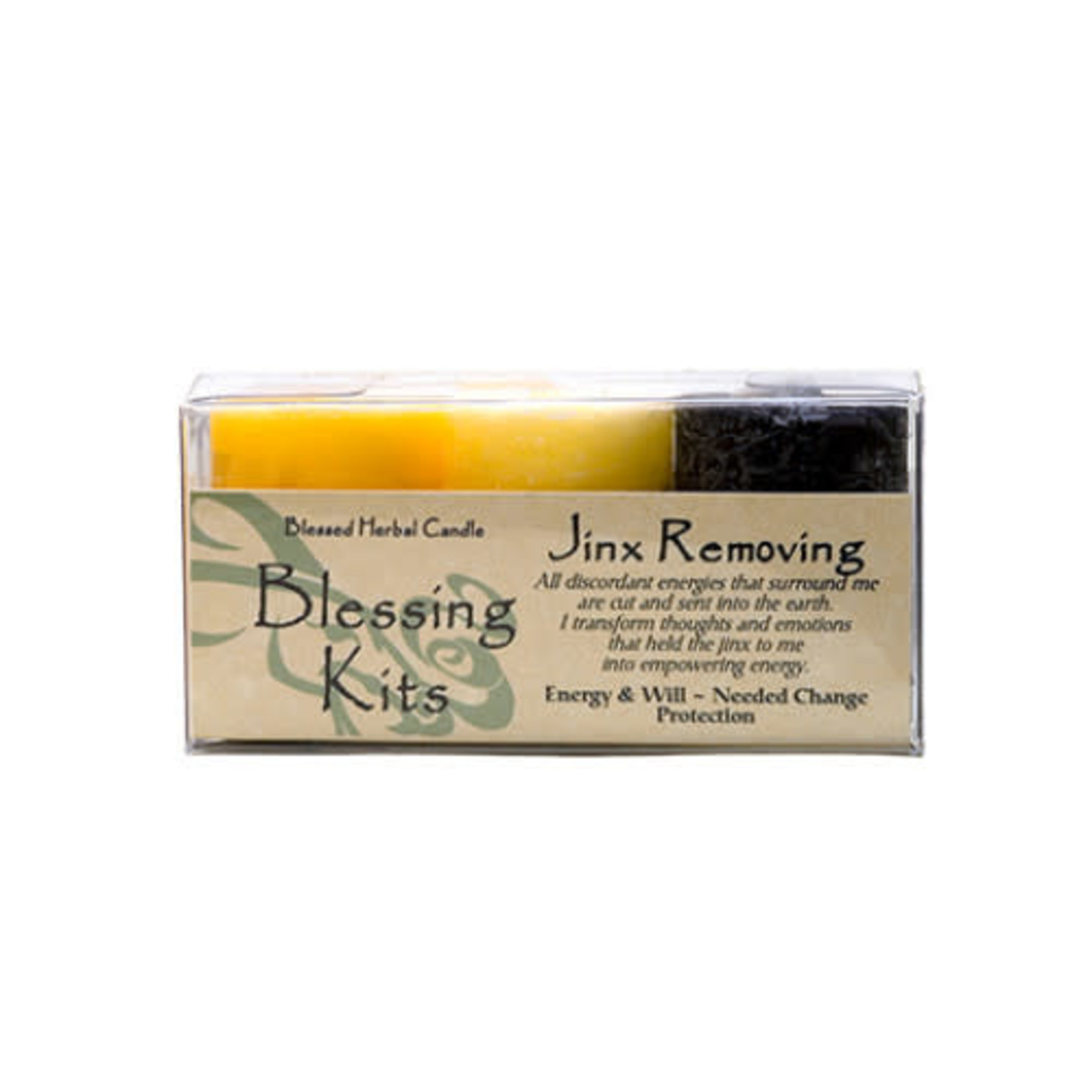 Blessed Kit Herbal Jinx Removing Candle Kit