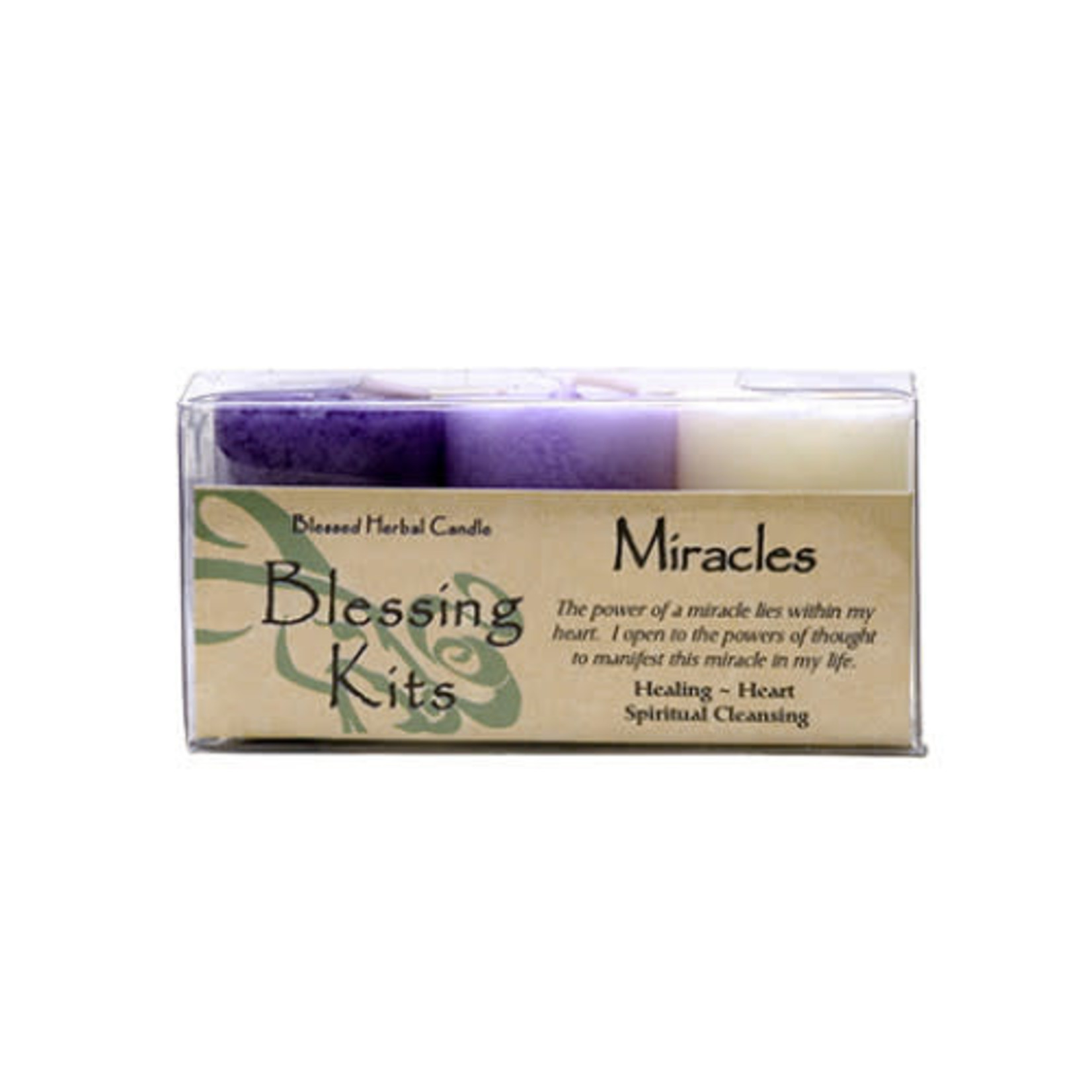 Blessed Kit Herbal Miracles Candle Kit