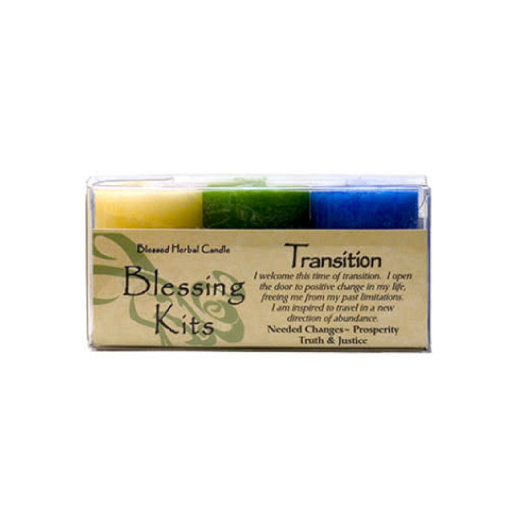 Blessed Kit Herbal Transition Candle Kit