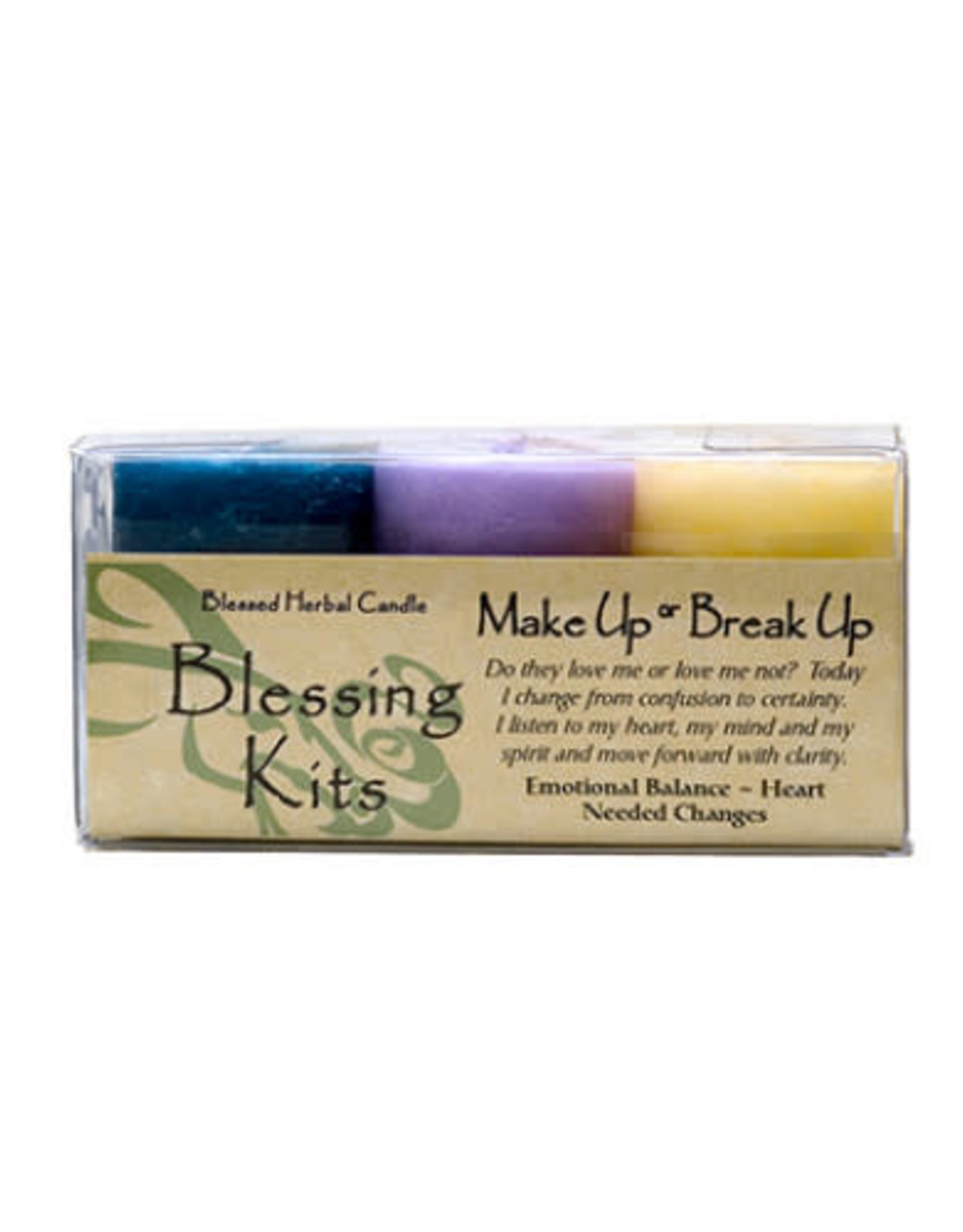 Make Up or Break Up Candle Kit