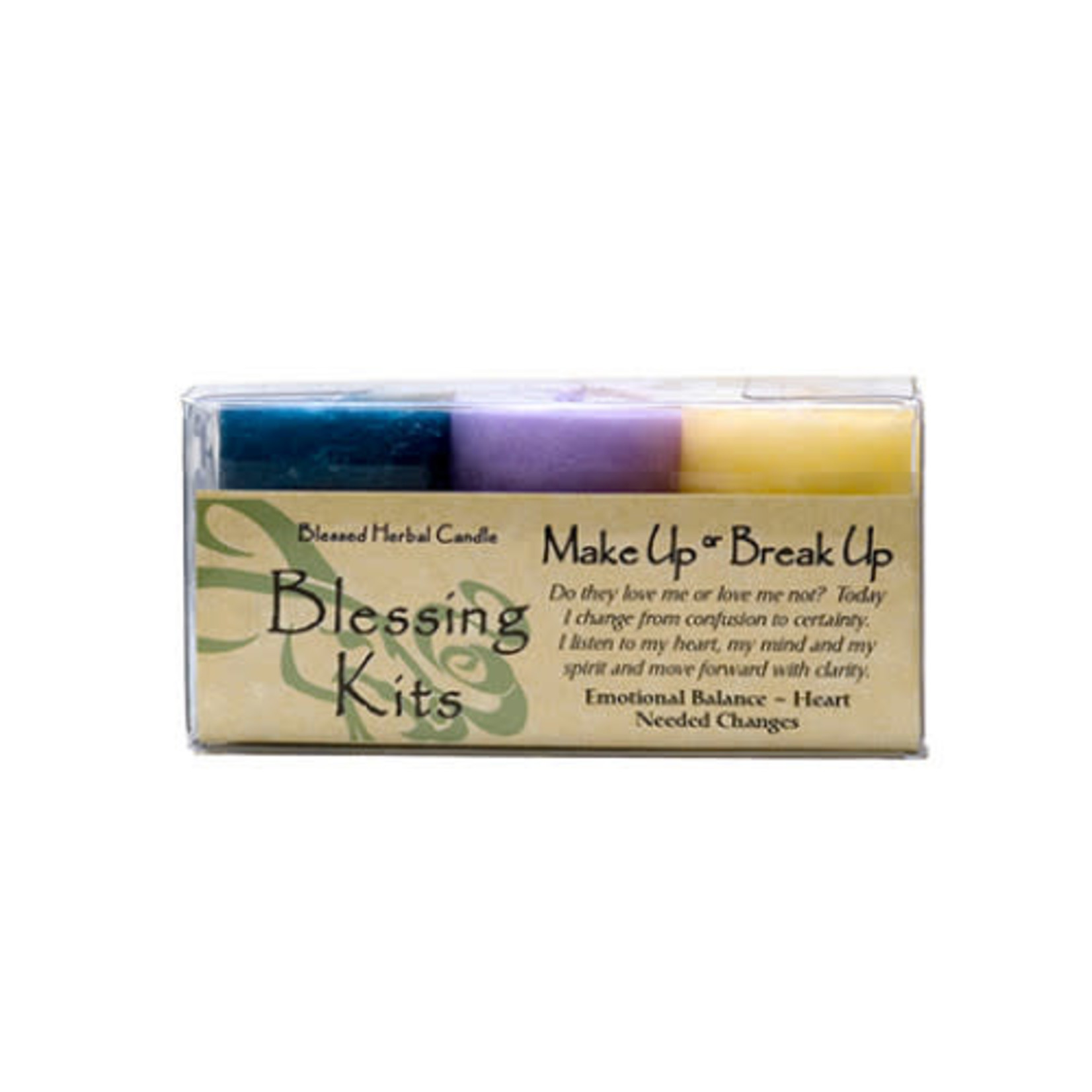 Blessed Kit Make Up or Break Up Candle Kit