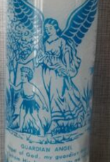 Guardian Angel 7 Day Candle