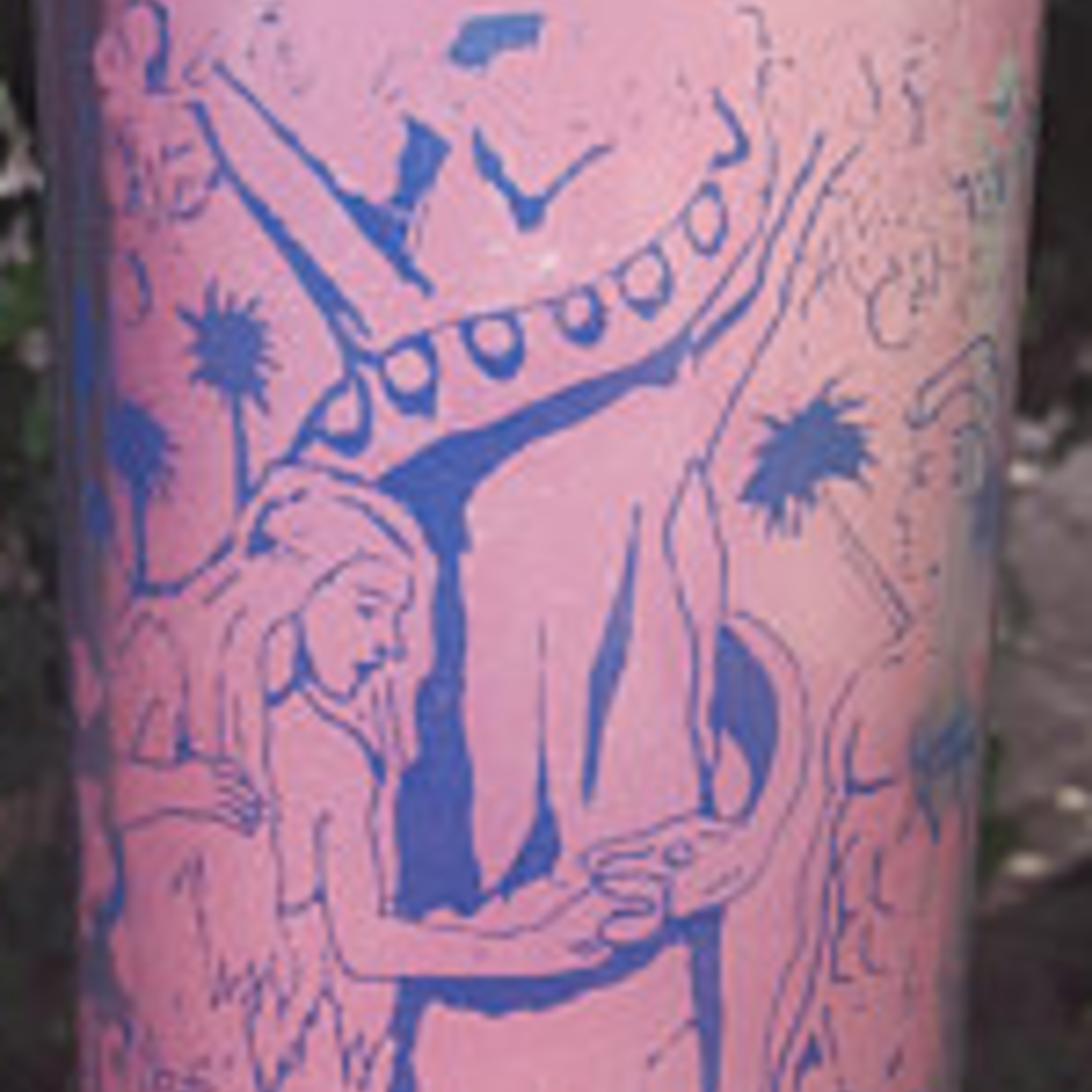 Adam & Eve  Pink 7 Day Candle