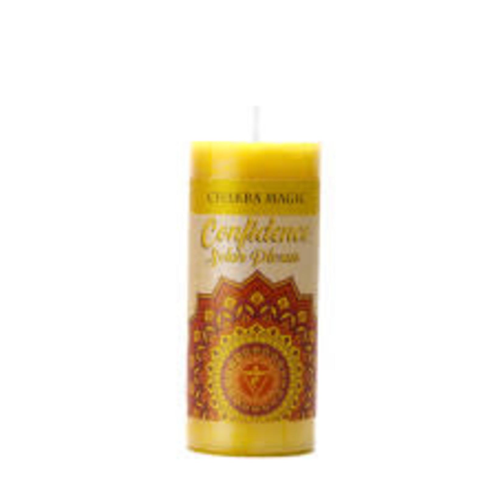 Chakra Magic: Solar Plexus (Confidence) Candle