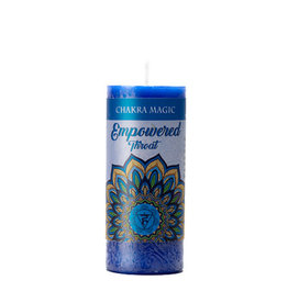 Chakra Magic: Throat (Empowered) Candle