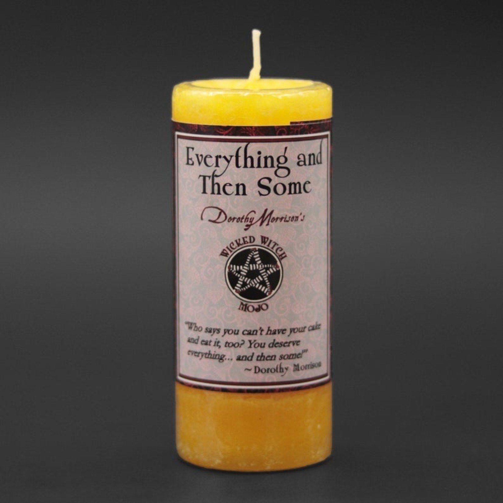 Piller Candle Wicked Witch Mojo Everything and Then Some