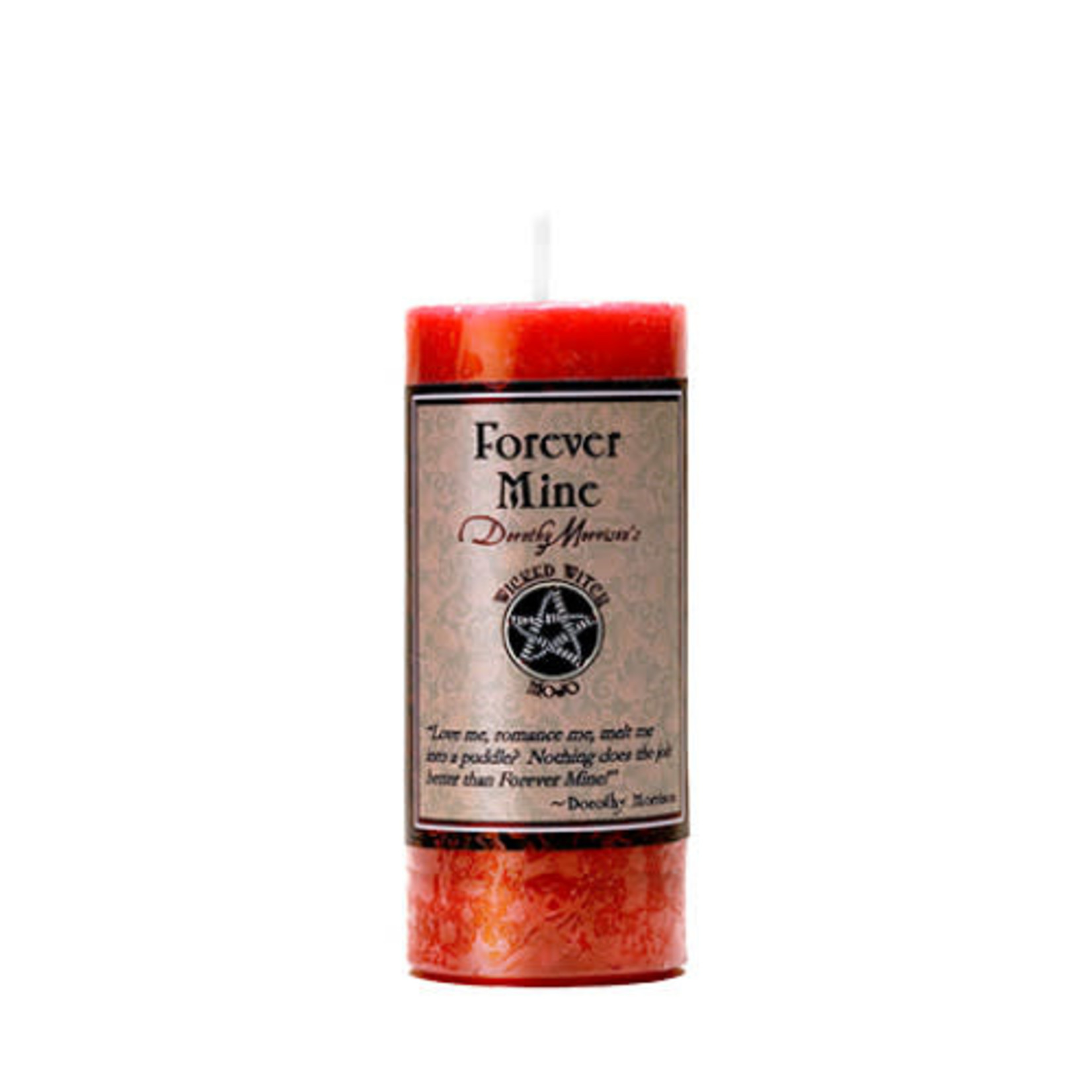 Pillar Candle Wicked Witch Mojo Forever Mine