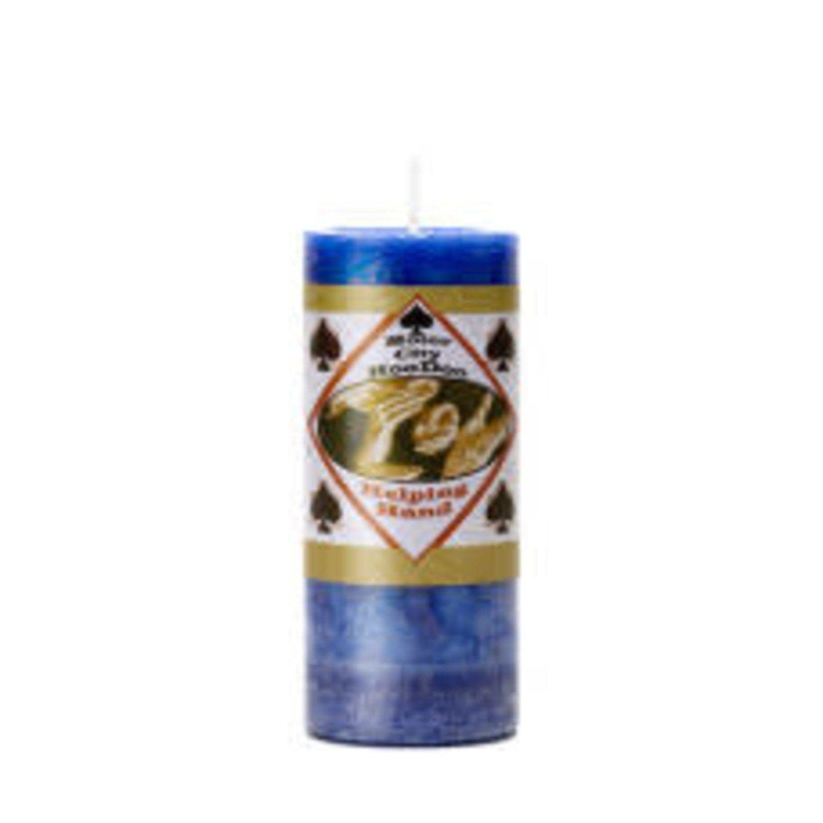 Pillar Candle Helping Hand