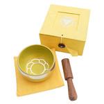 Tibetan Singing Bowl Solar Plexus - Yellow
