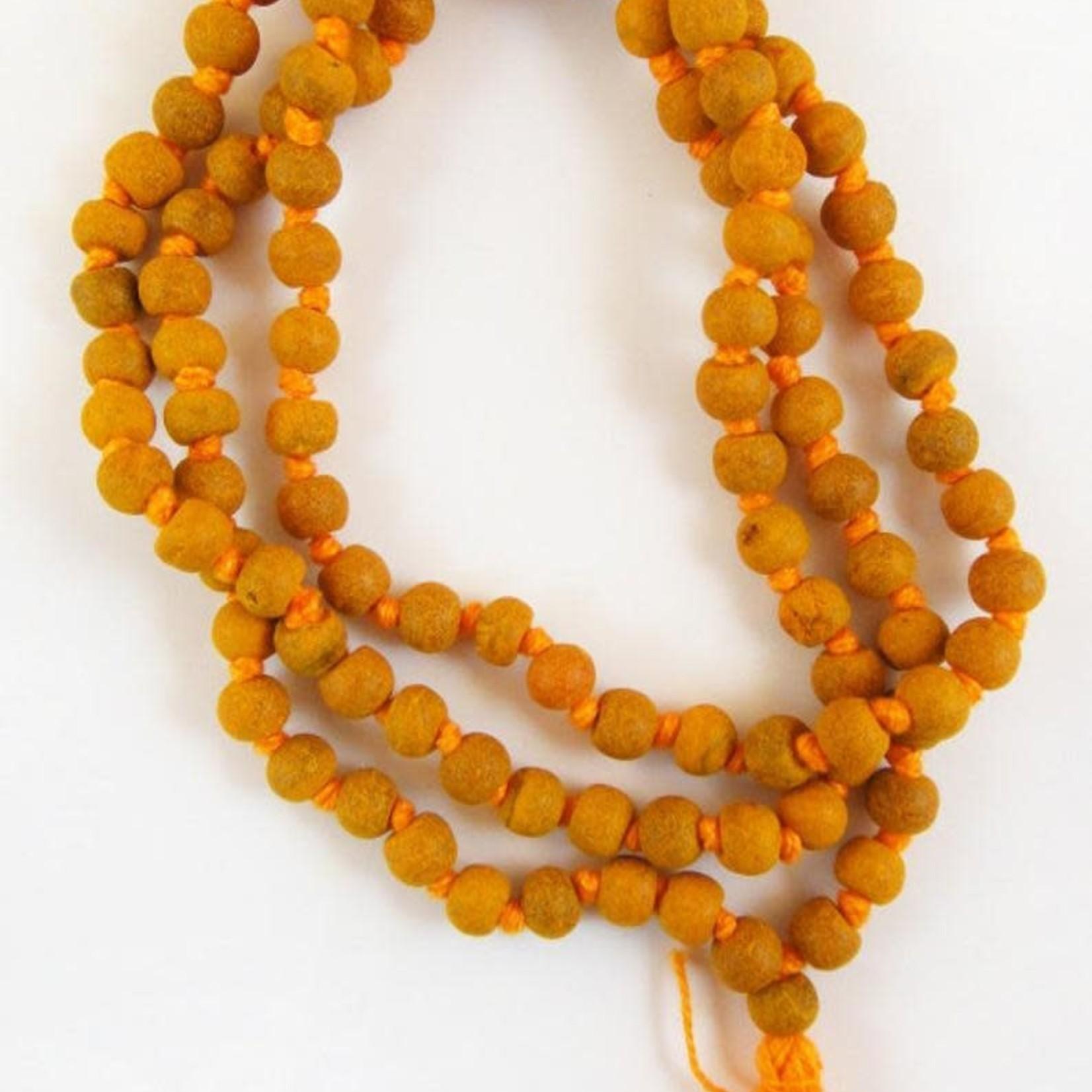 "Mala Beads Turmeric 36"""