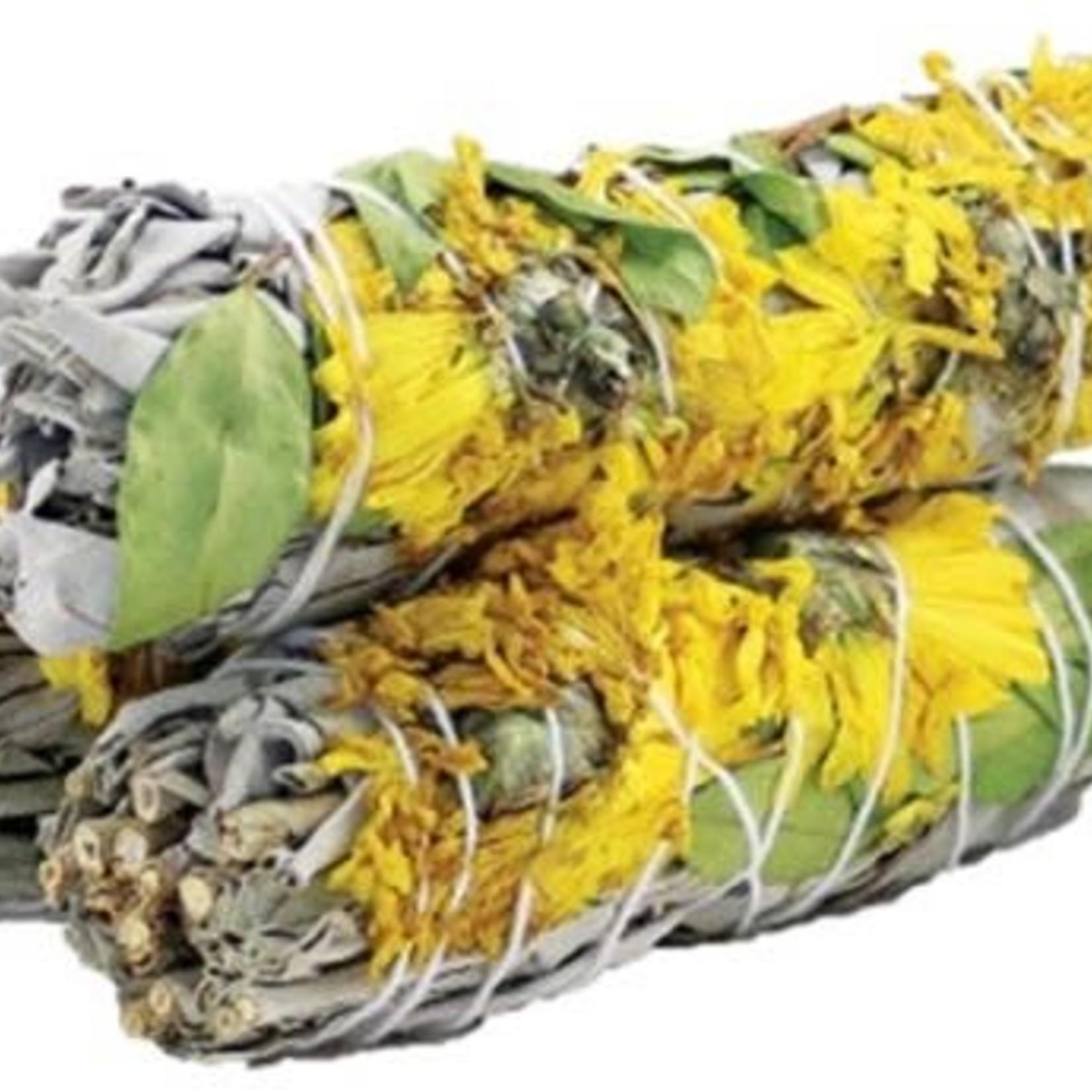 """Sunflower Sage Smudge Stick 4"""""""