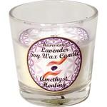 Votive Candle Harmonia Soy Gem -Healing Amethyst