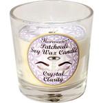 Votive Candle Harmonia Soy Gem - Clarity Clear Quartz