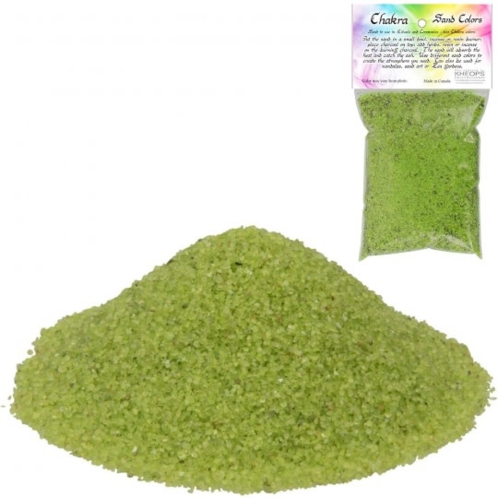 Chakra Sand-Green 4OZ