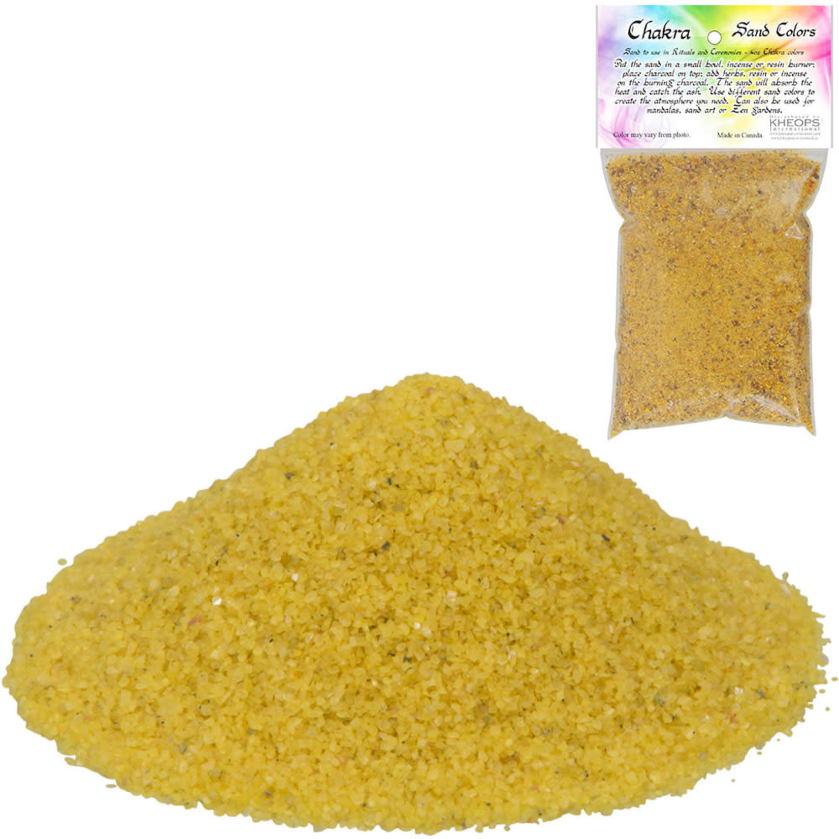 Chakra Sand- Yellow 4OZ