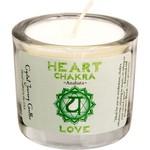 "Chakra Heart Soy Votive Candle  2""- LOVE"