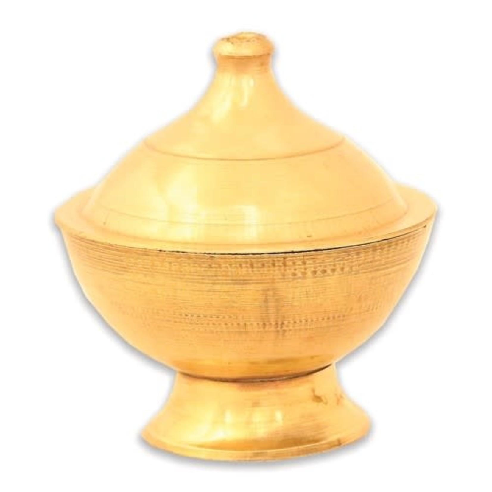 """Brass Burner Small Pot 2.25""""tall"""