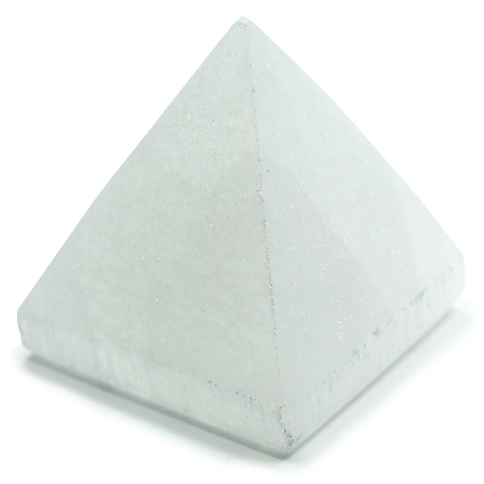 Mini Selenite Pyramids