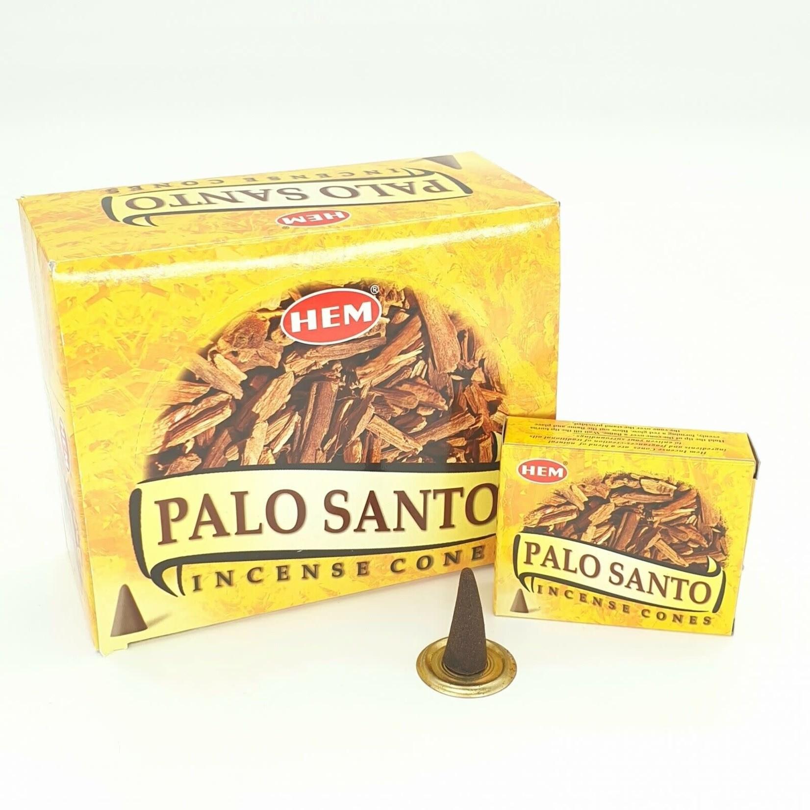 Palo Santo Cones Hem