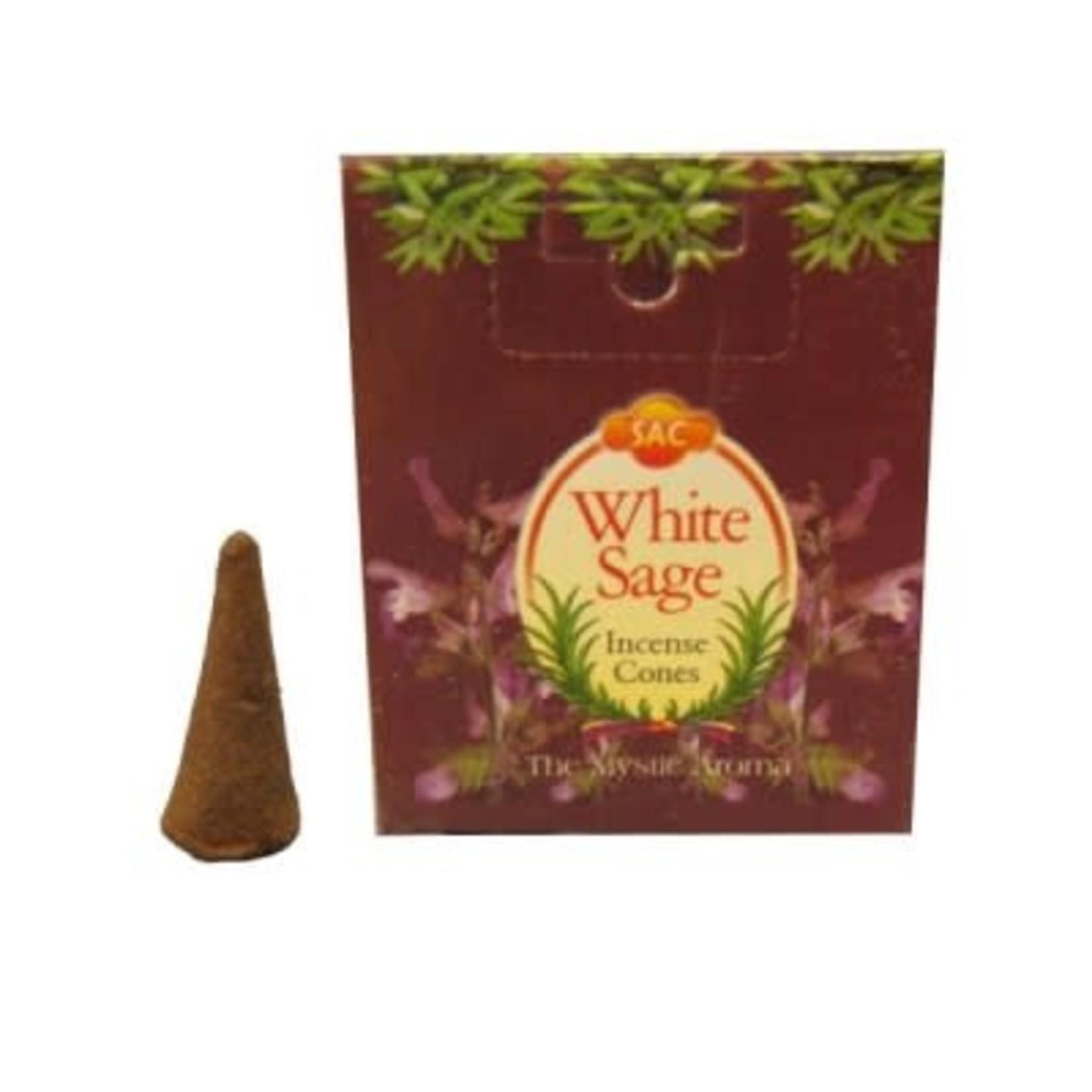 White Sage Incense Cones (SAC)