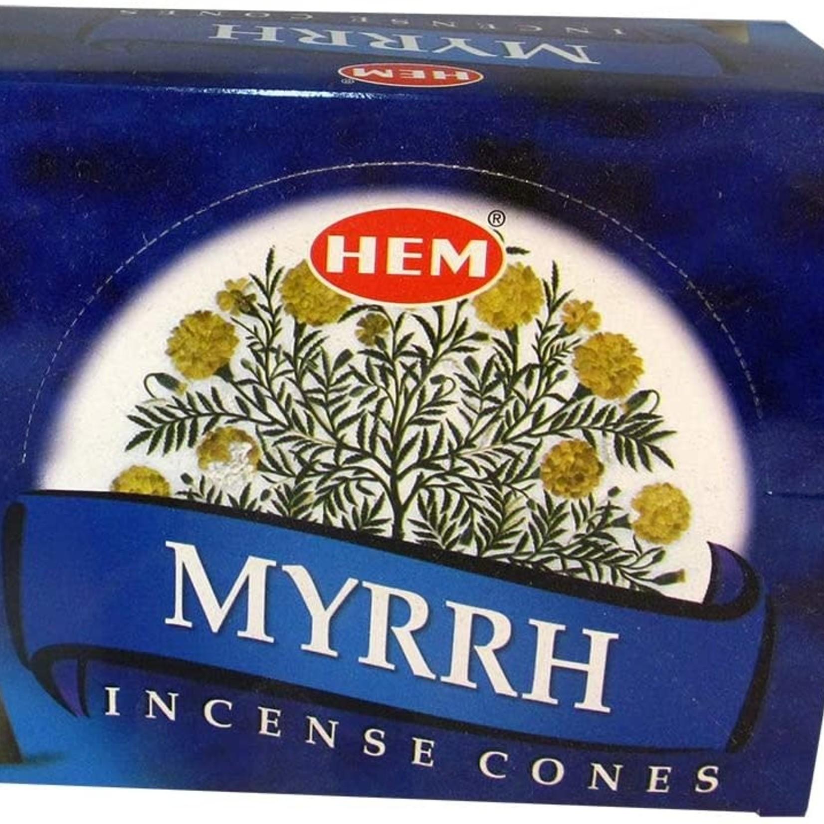 Myrrh Incense Cone -Hem