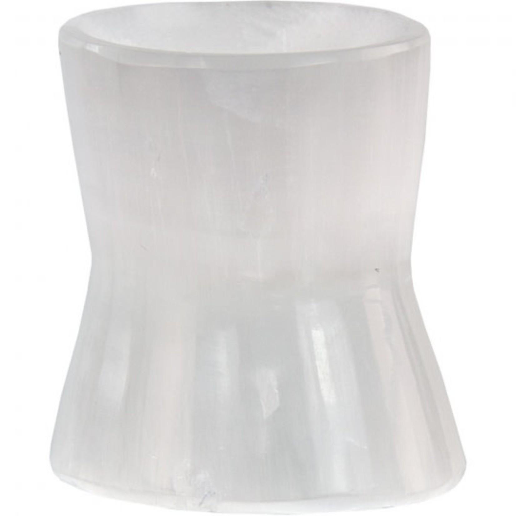 Selenite Sphere Stand 2'H