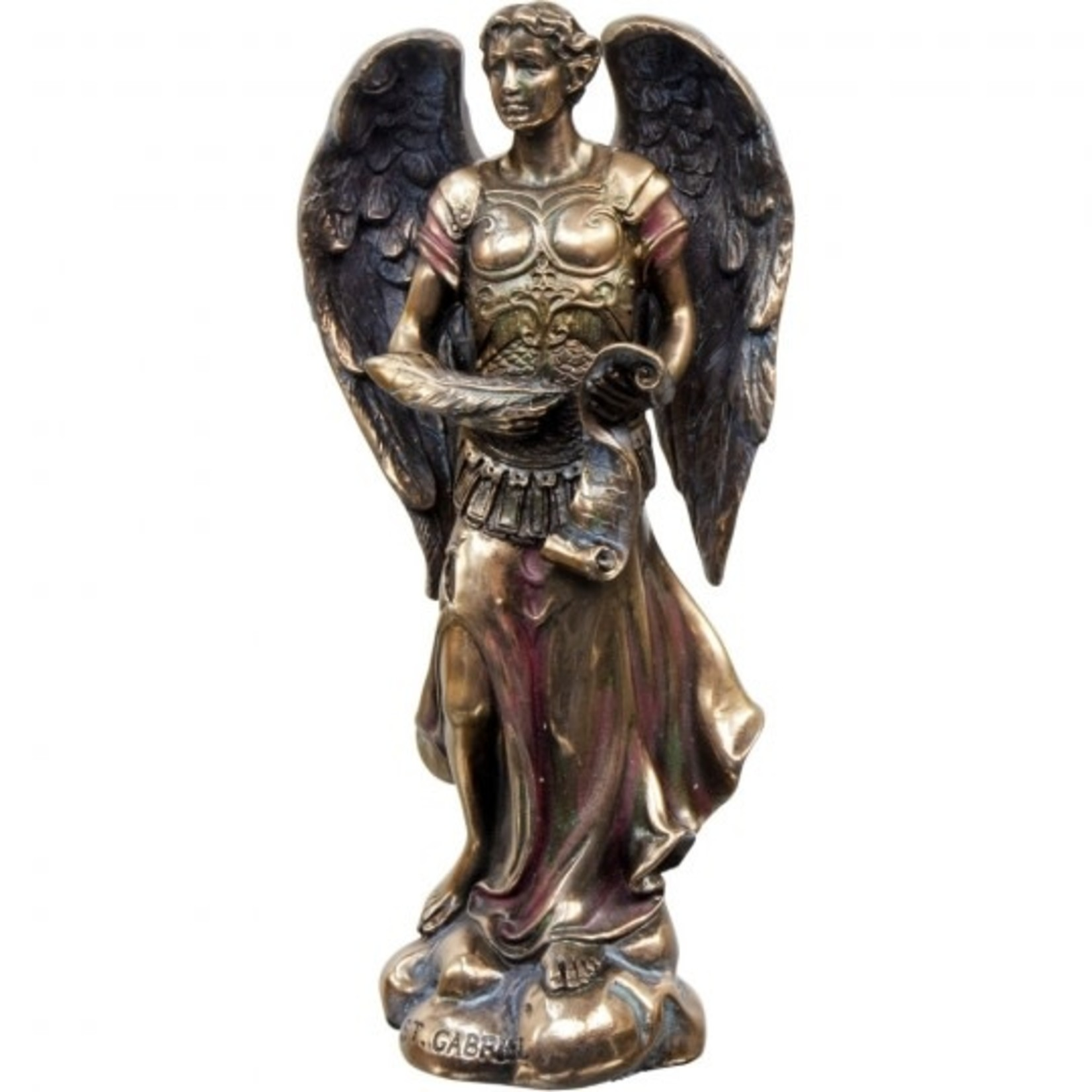 Angel Resin Figurine Archangel Gabriel 5''