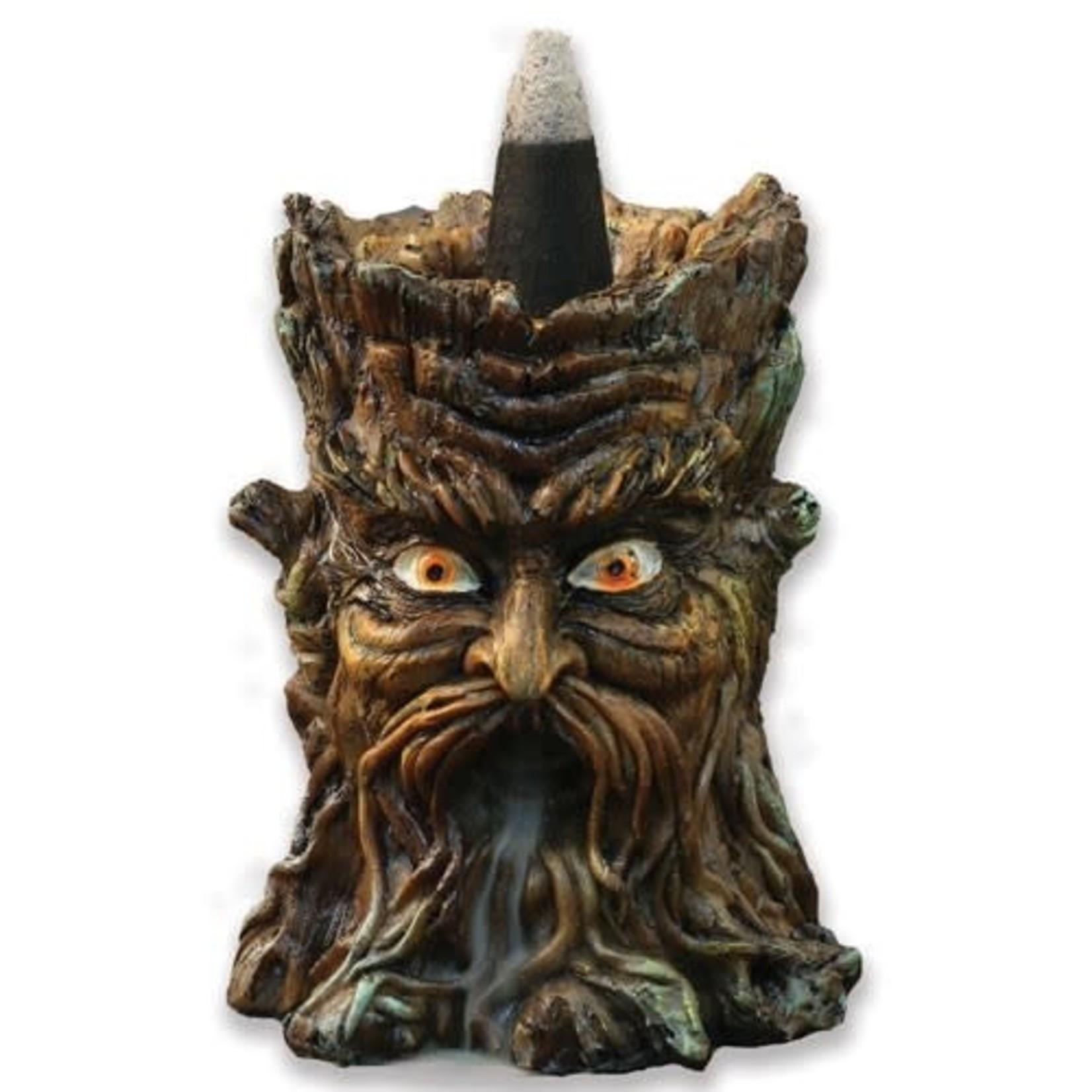 """Mini Tree Backflow Incense Burner 3.5"""" T x 2.5""""W"""