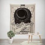 The Moon Tapestry Black & White