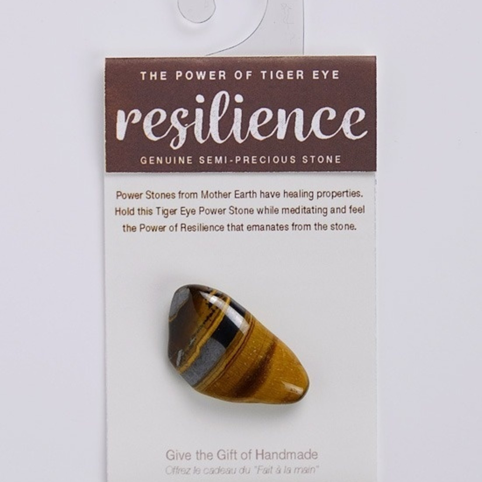 Power Stone Tiger Eye Resilience-