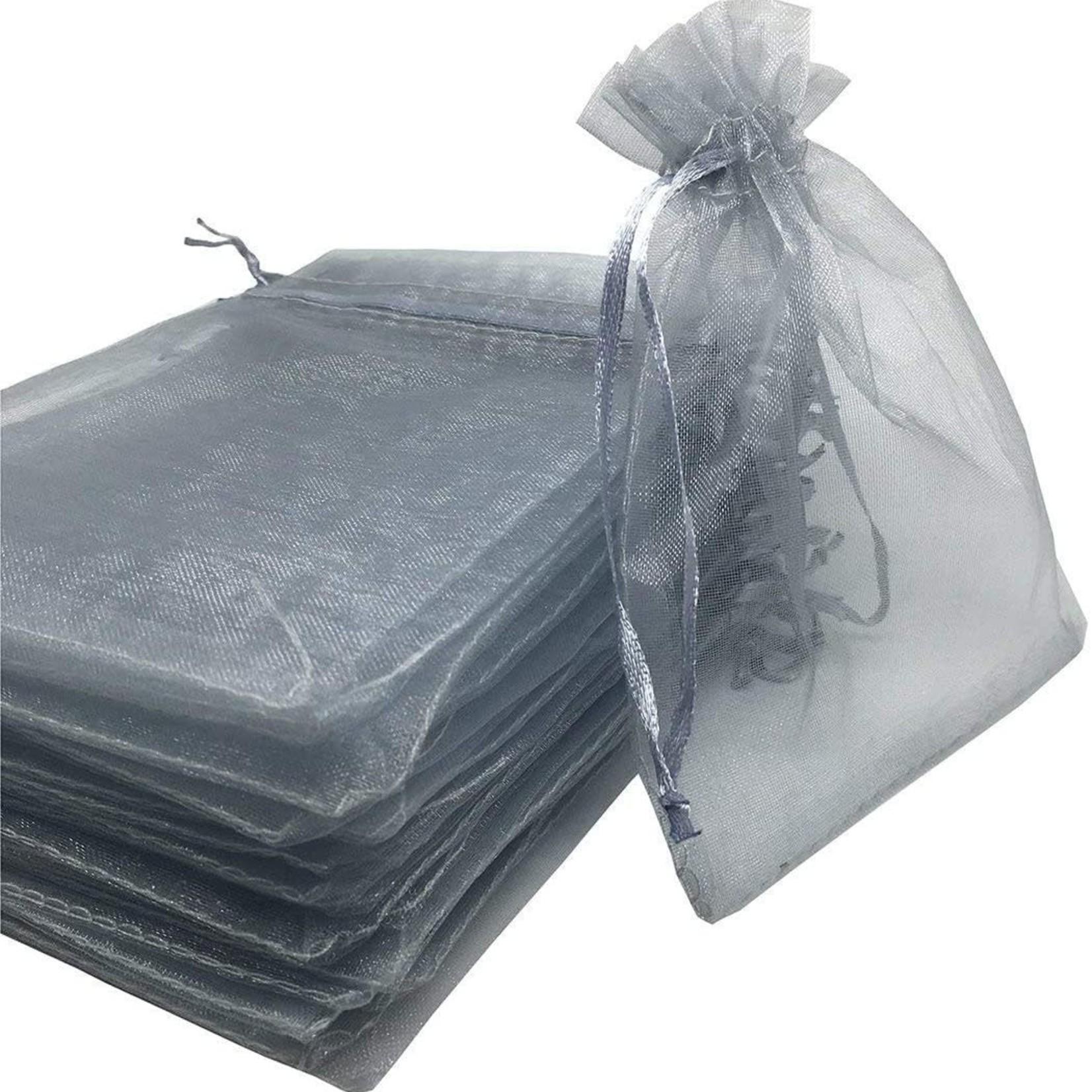 Organza Bags - Gray 3pk