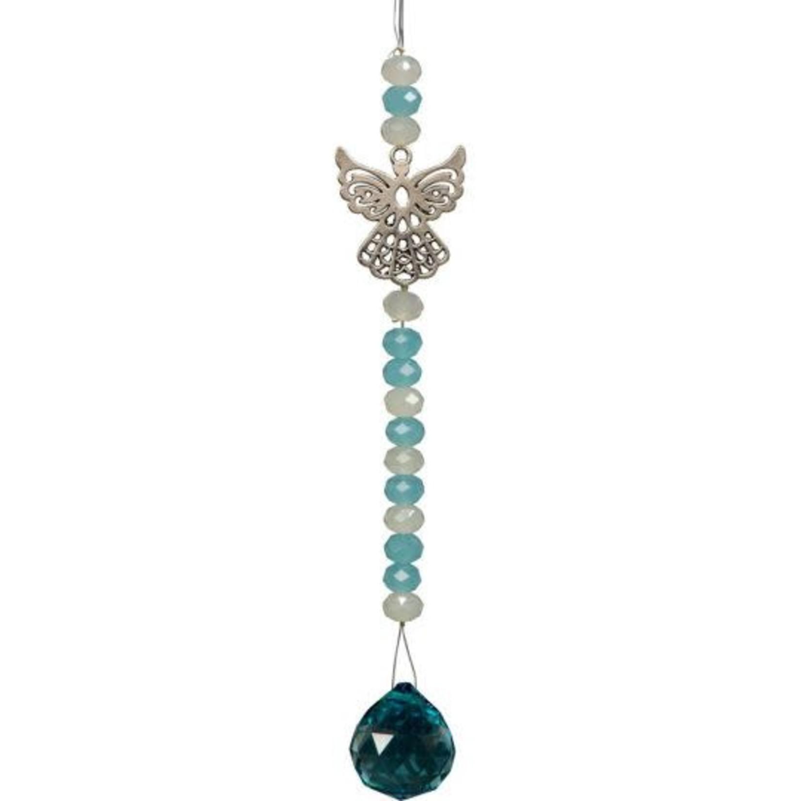 Hanging Crystal Ball Angel